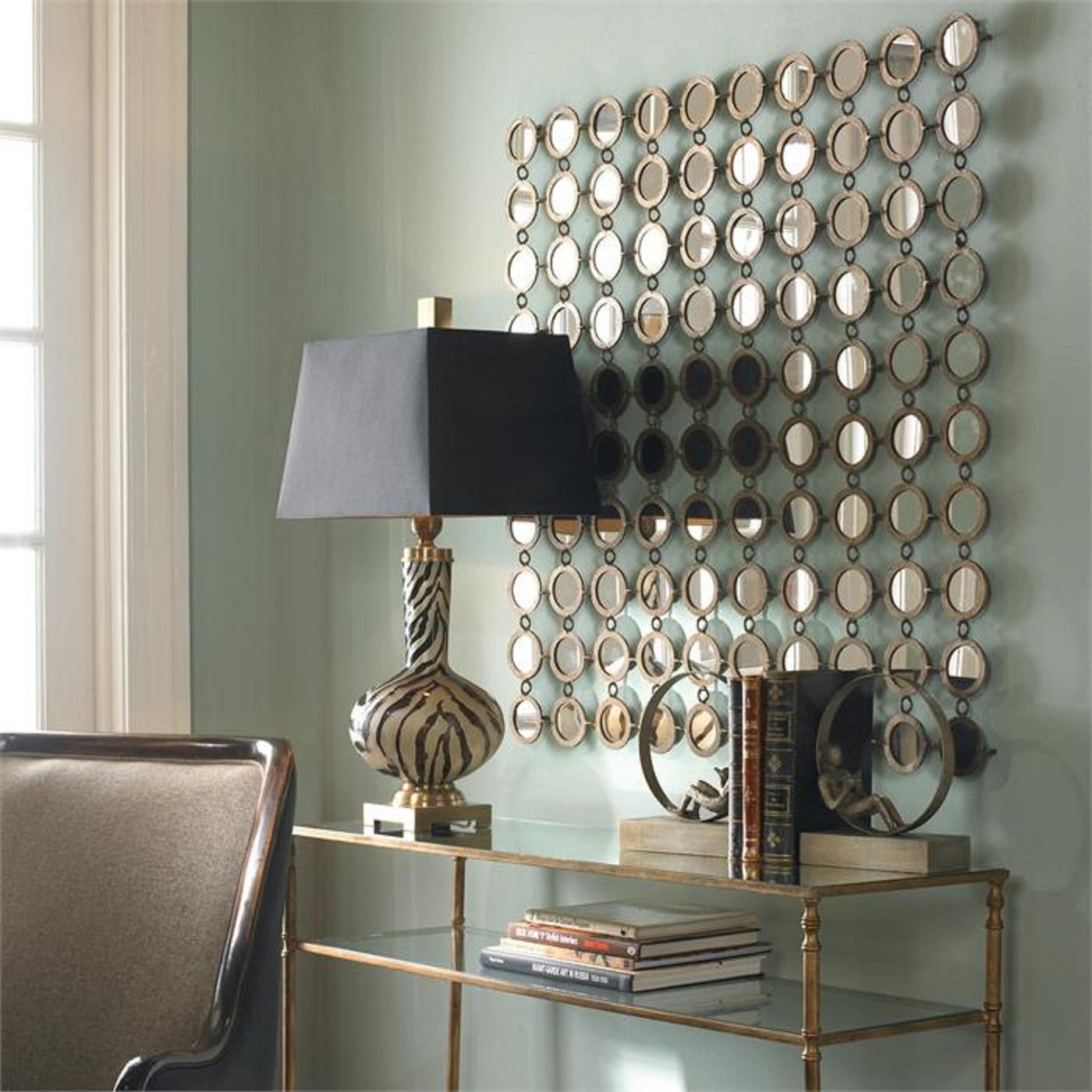 Metal Mirror Wall Decor | Jeffsbakery Basement & Mattress In 2018 Wall Art Decors (Gallery 11 of 15)