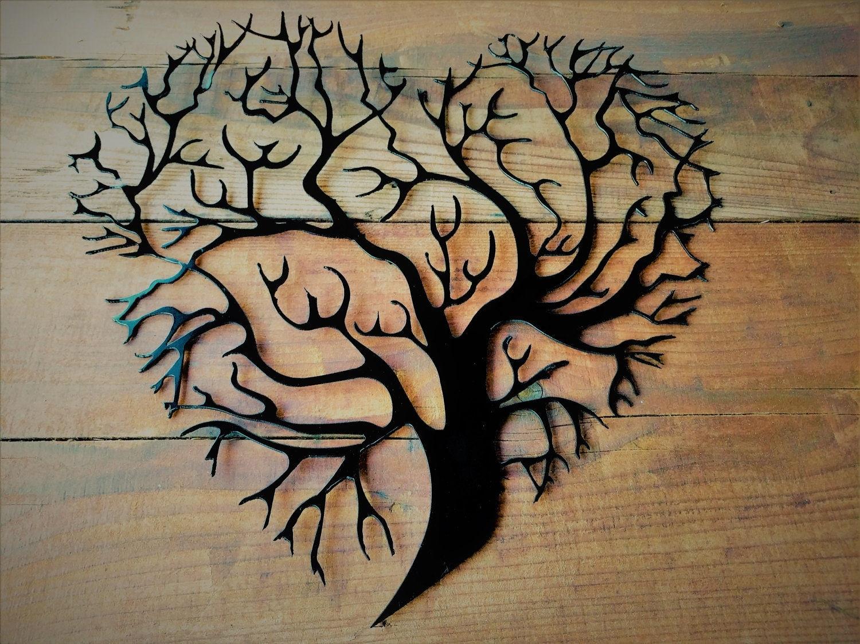 Metal Tree Wall Art, Metal Tree Of Life, Metal Tree, Metal Tree Wall Intended For Recent Metal Tree Wall Art (View 7 of 15)
