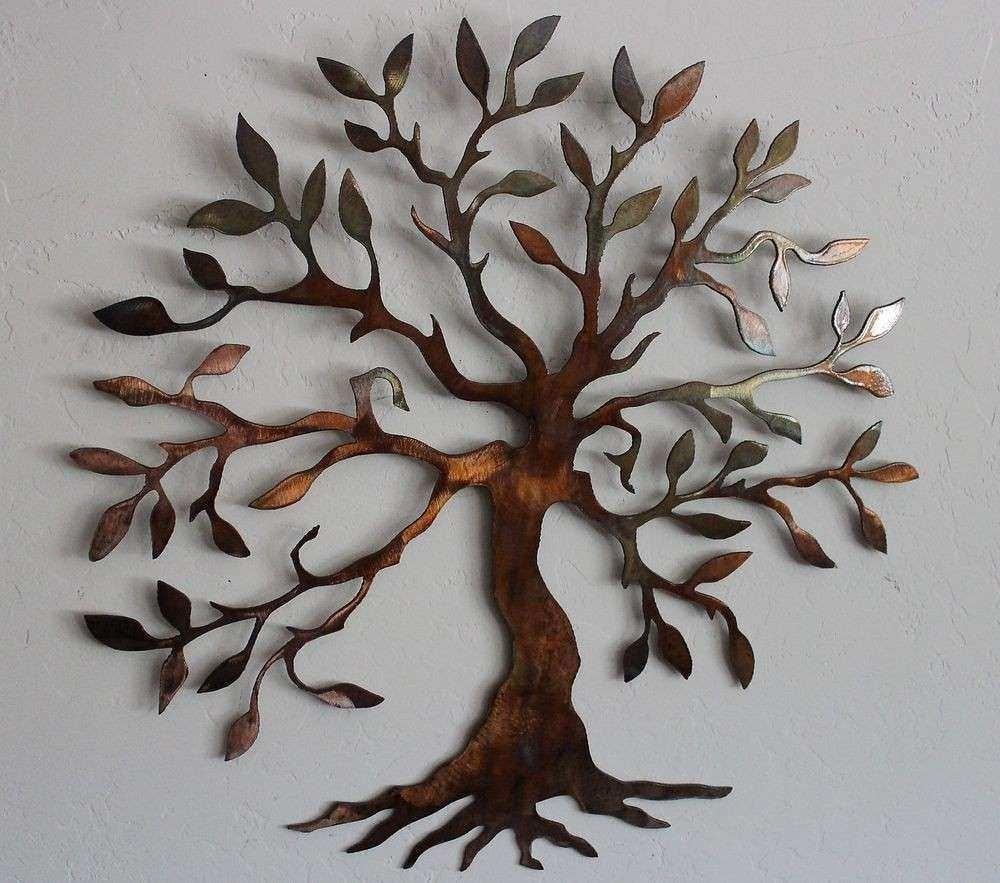 Metal Tree Wall Decor Inspirational Big Metal Wall Art Tree Metal Throughout Most Recent Metal Tree Wall Art (Gallery 13 of 15)