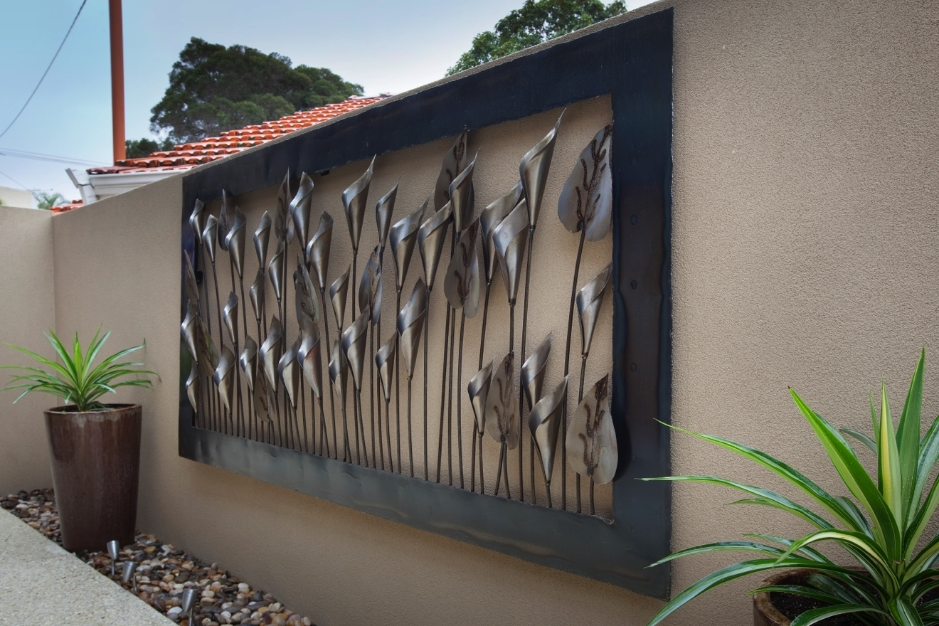 Metal Wall Art Outdoor Perth – Outdoor Designs Intended For Best And Newest Outdoor Wall Art Decors (Gallery 5 of 20)