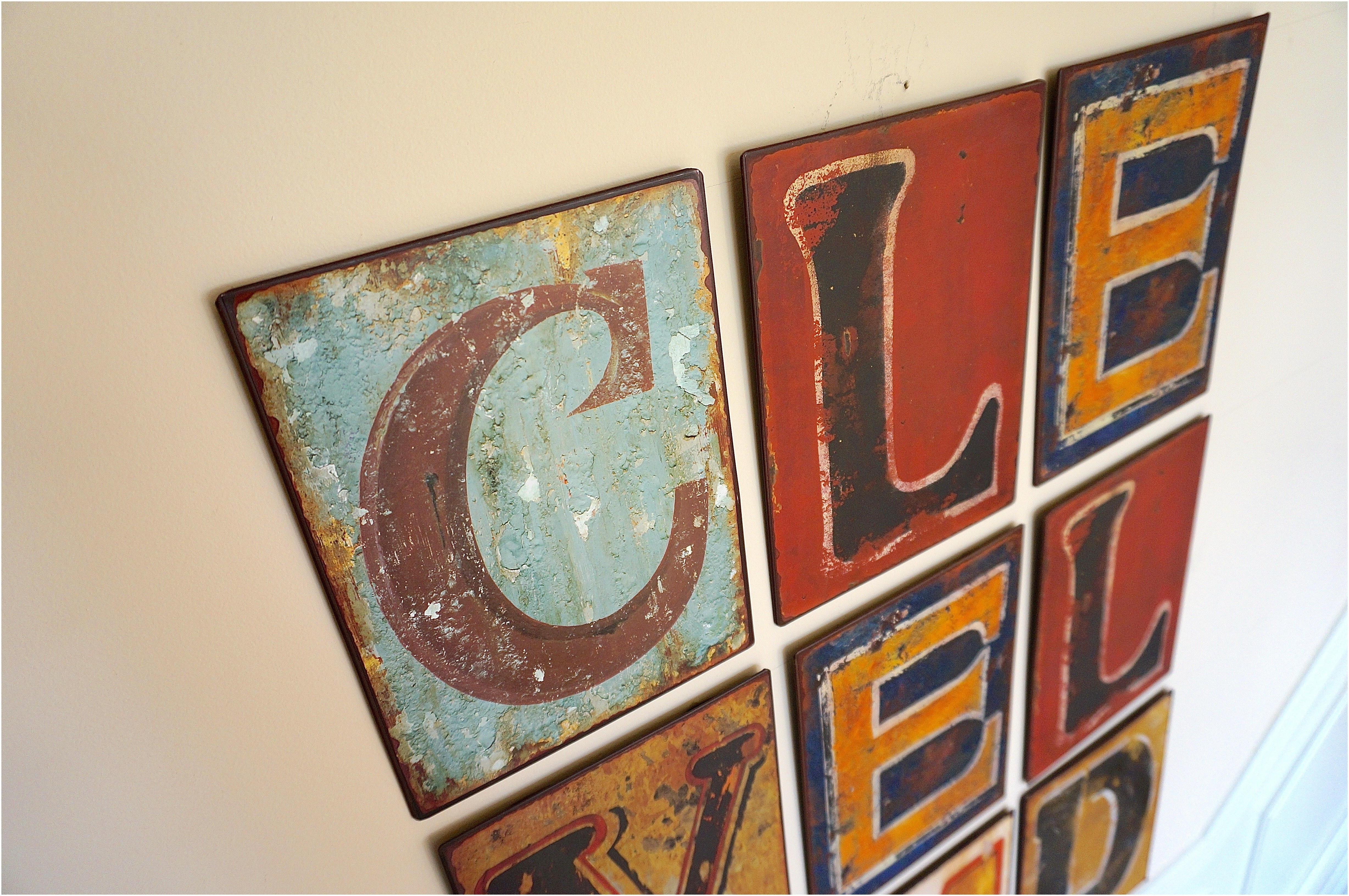 Metal Wall Letters Metal Letter Wall Art – Careyhead With Regard To Most Up To Date Letter Wall Art (View 13 of 20)