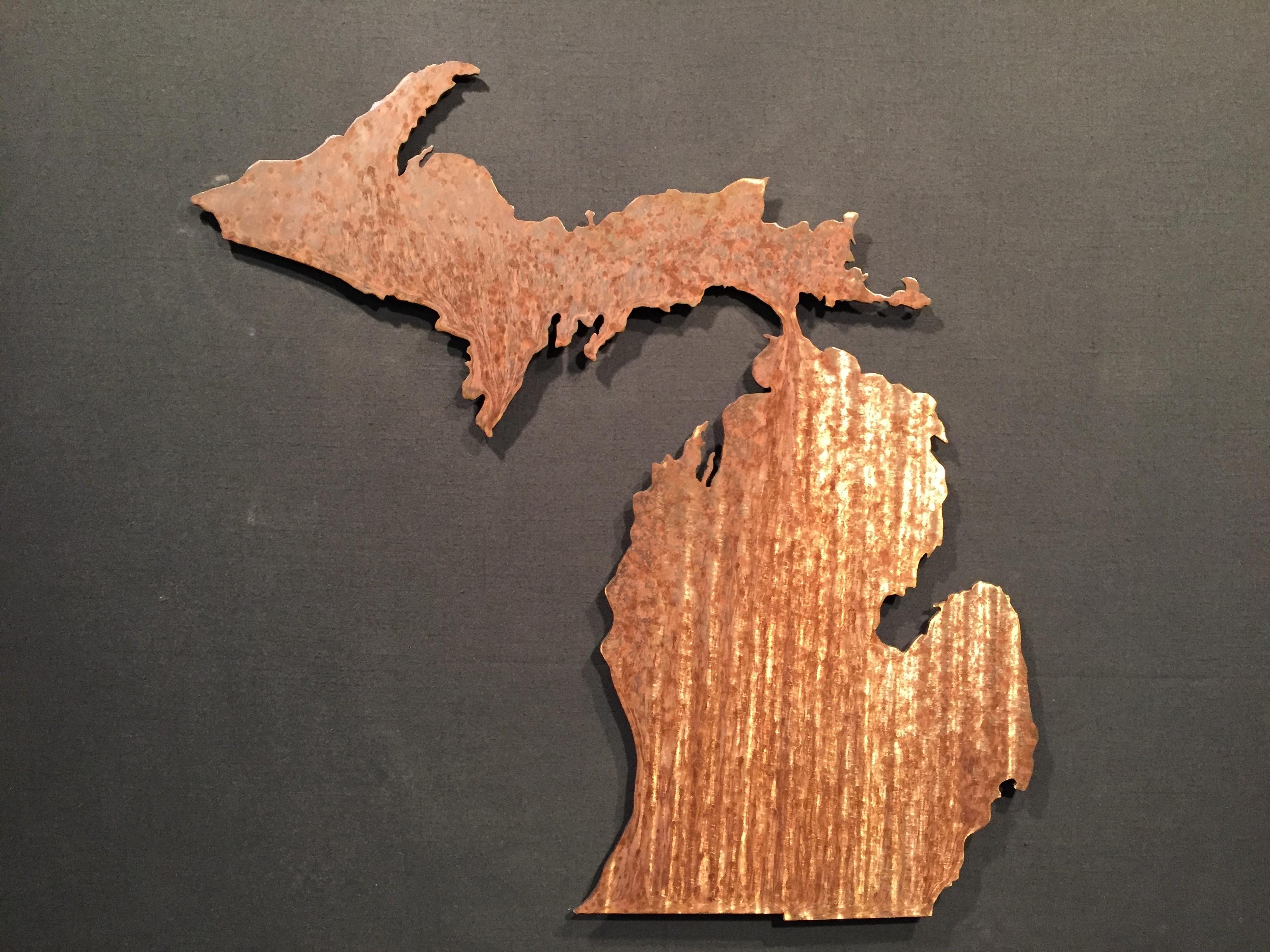 Michigan Wall Art – Wall Art For Most Recent Michigan Wall Art (Gallery 1 of 20)