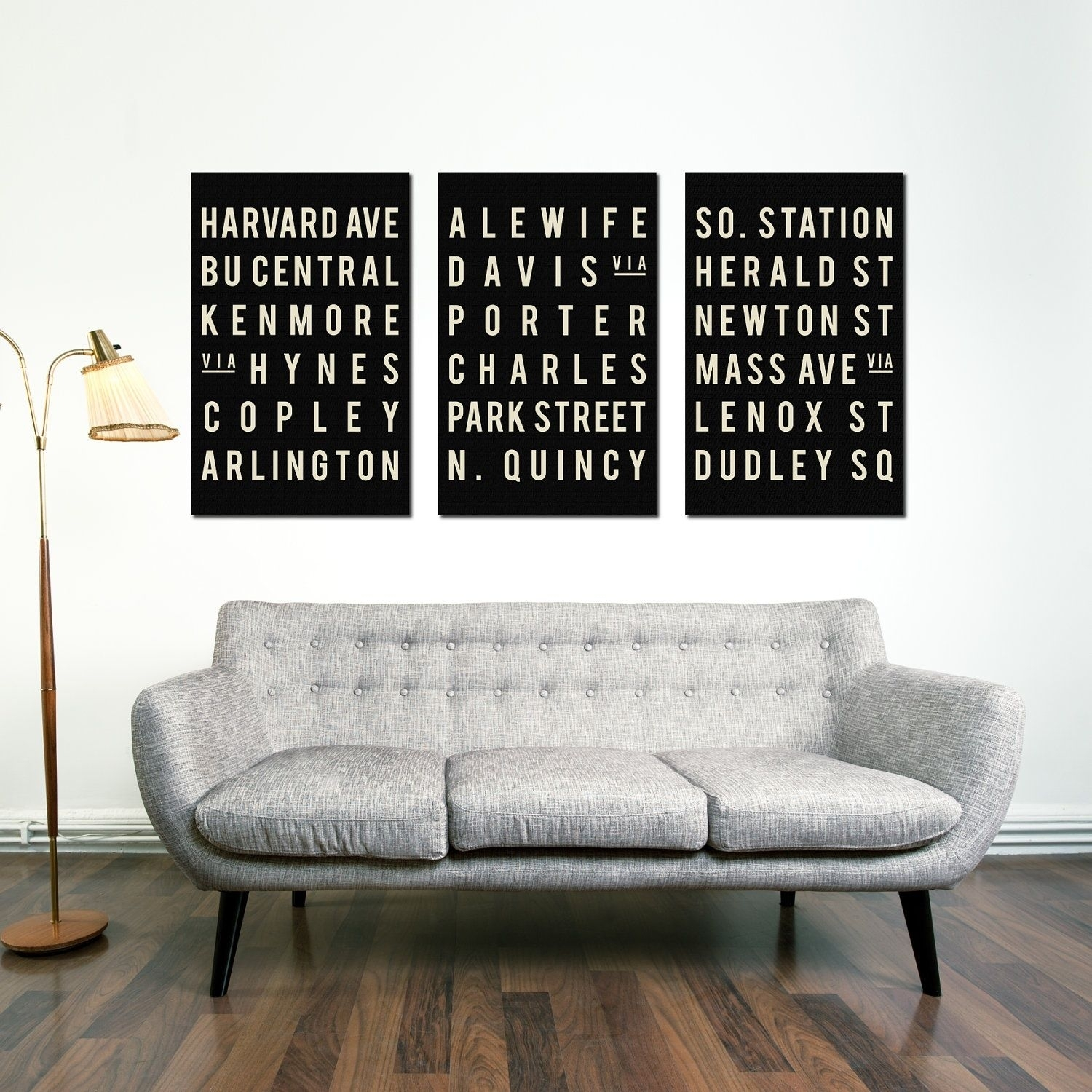 Mid Century Sofa And Boston Wall Art | Boston Favorites | Pinterest With Regard To Latest Boston Wall Art (Gallery 16 of 20)