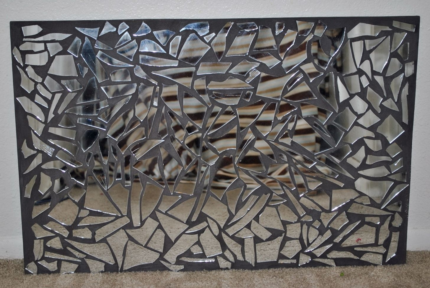 Mirrored Mosaic Wall Art | Home Decor | Pinterest | Mosaic Wall Art Pertaining To Most Up To Date Mirror Mosaic Wall Art (View 4 of 20)