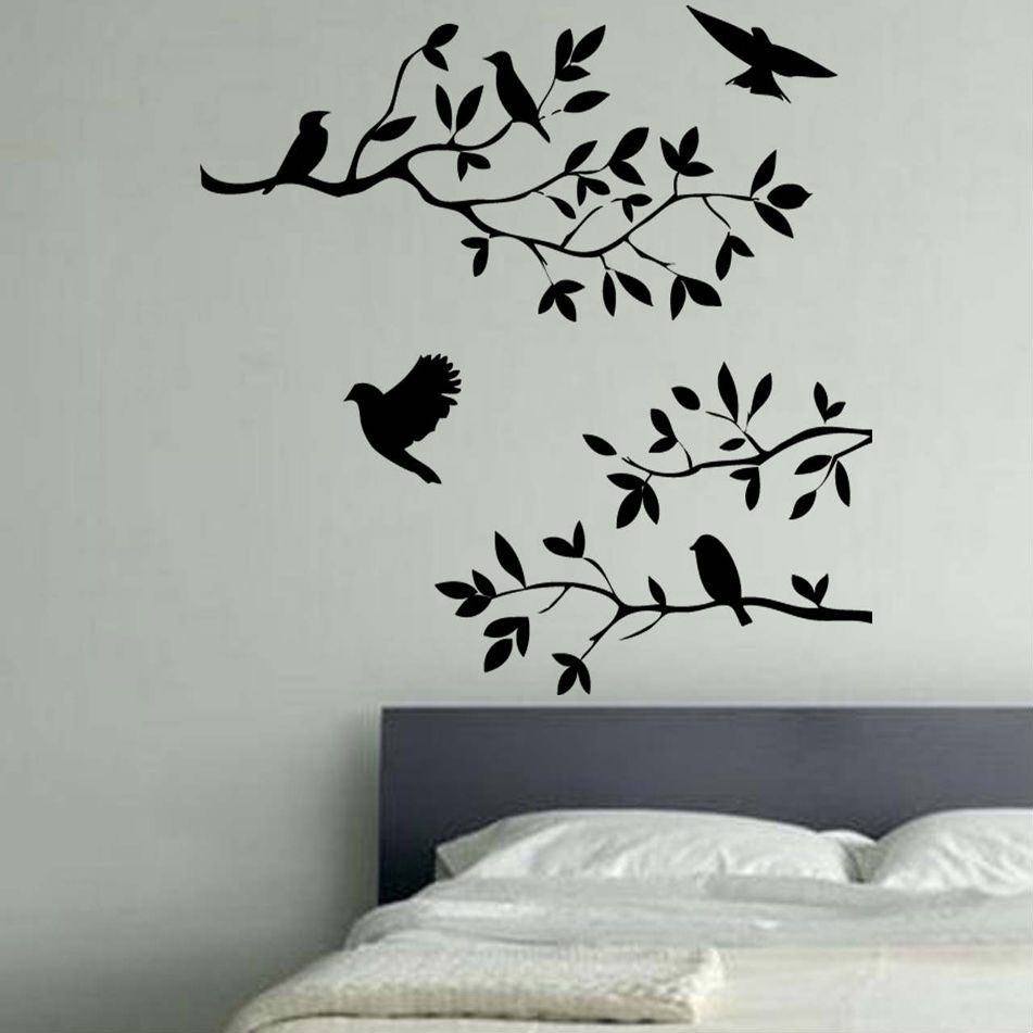 Mixtu Ideal Wall Art Birds – Wall Decoration Ideas Within 2018 Bird Wall Art (Gallery 10 of 15)
