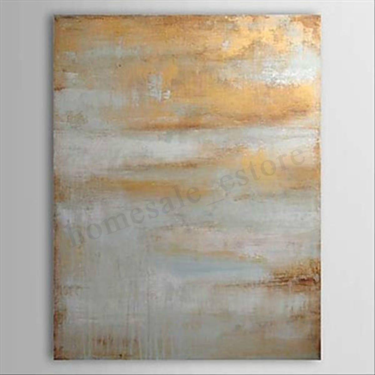 Modern Abstract Oil Painting Canvas Wall Art Poster Print Picture Within Most Popular Modern Abstract Painting Wall Art (View 14 of 20)
