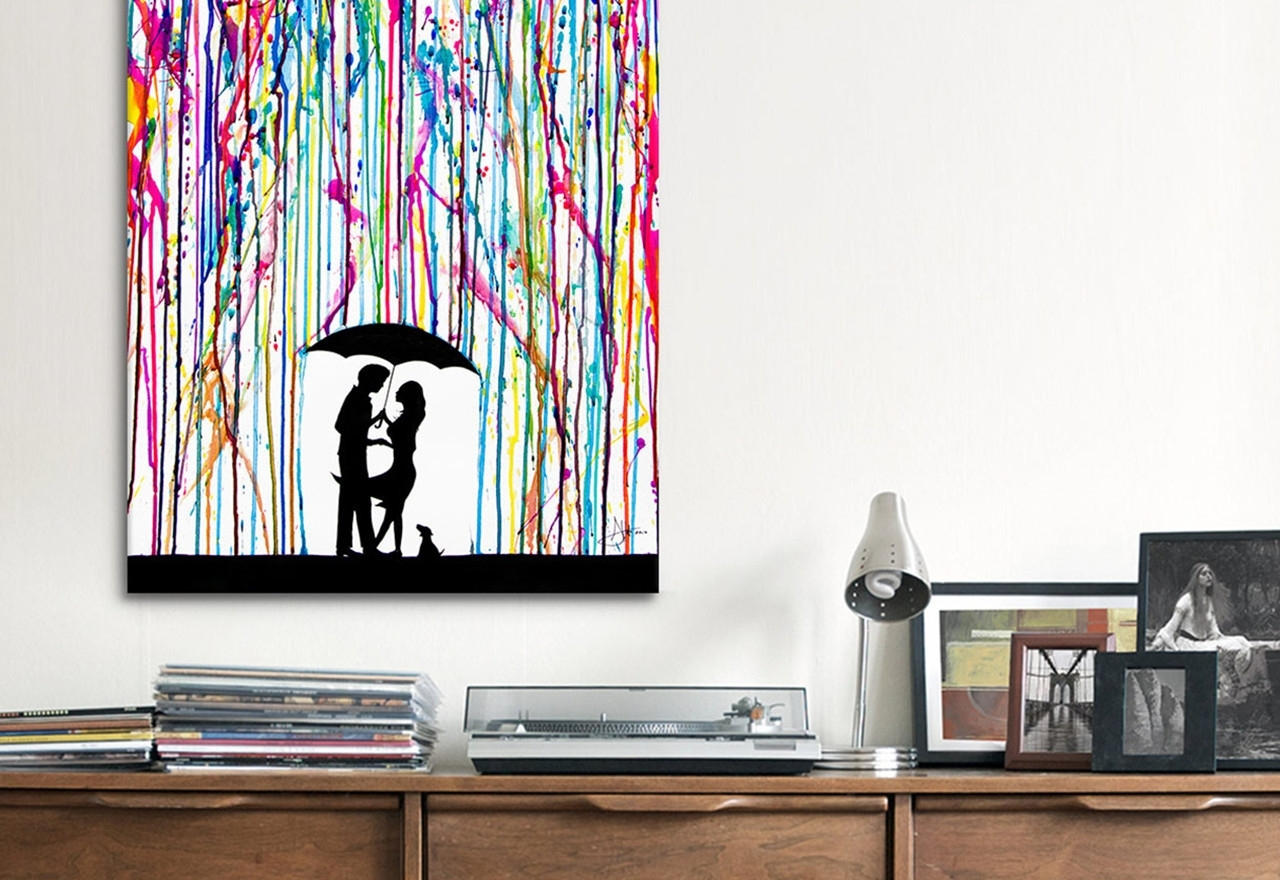Modern Canvas Wall Art Creation : Andrews Living Arts – Modern With Most Current Modern Wall Art (View 9 of 15)