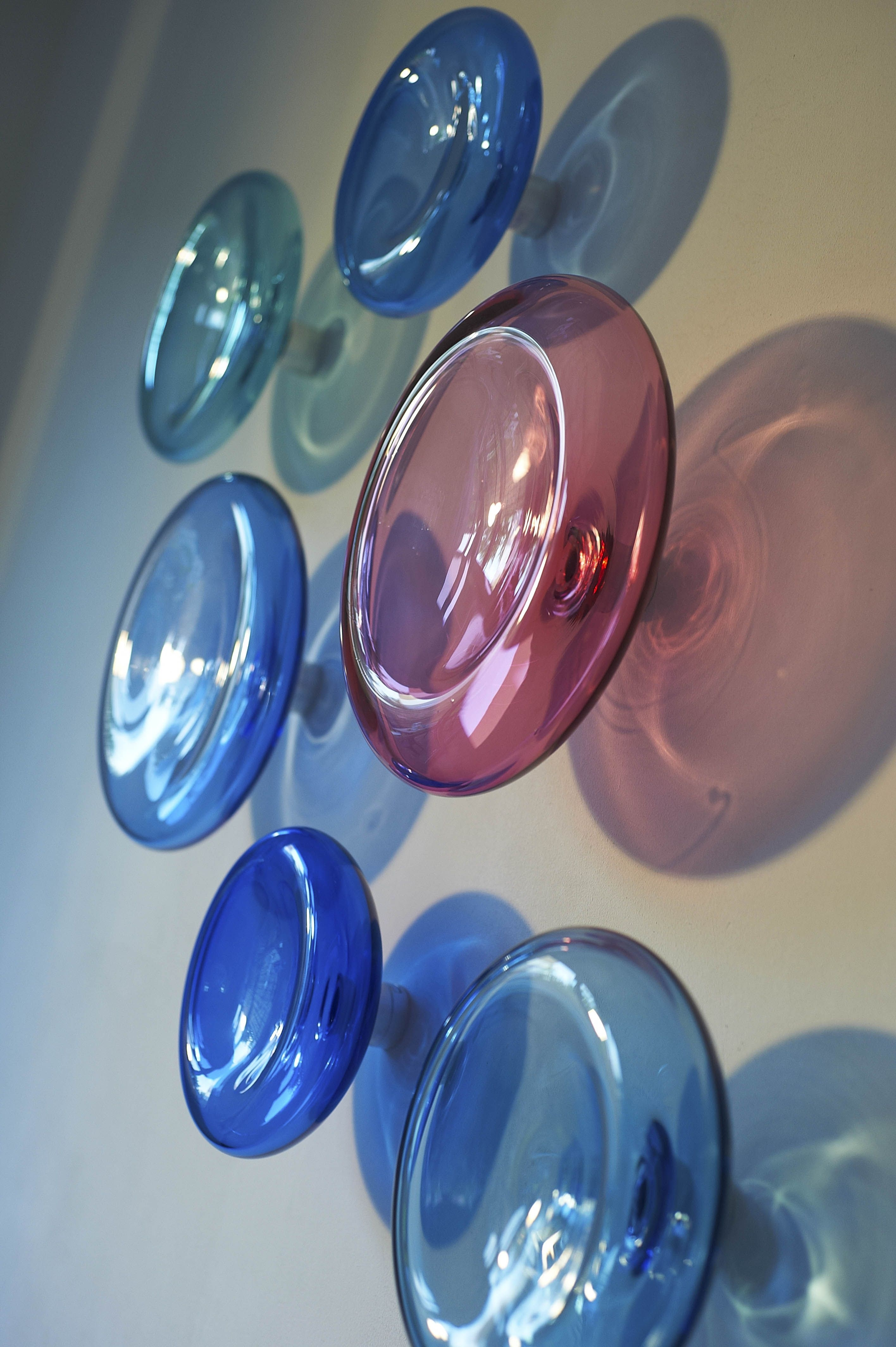 Modern Glass Wall Artalvitra Design / 3D Wall Sculpture Within Most Popular Blown Glass Wall Art (View 9 of 20)
