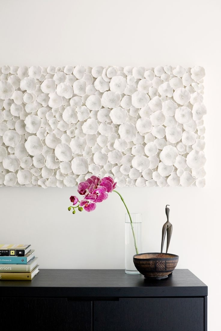 Modern Wall Art: Make Your Wall A Canvas – Blogbeen With Most Up To Date White Wall Art (Gallery 5 of 20)