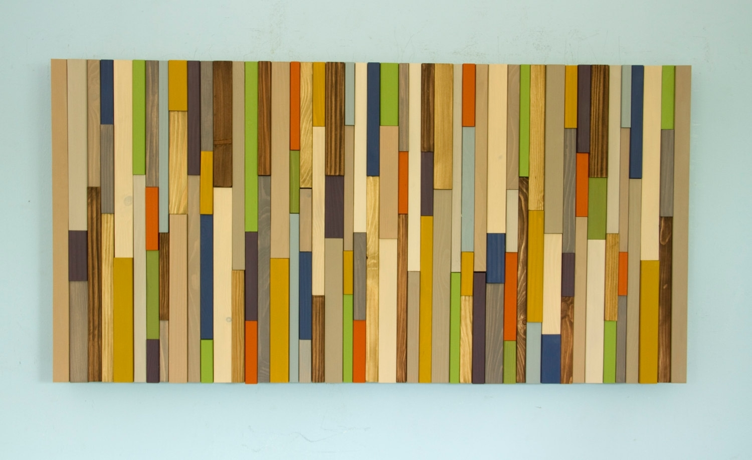 Modern Wood Art Mid Century Wood Wall Art New Sculpture Reclaimed For Best And Newest Mid Century Modern Wall Art (View 4 of 20)