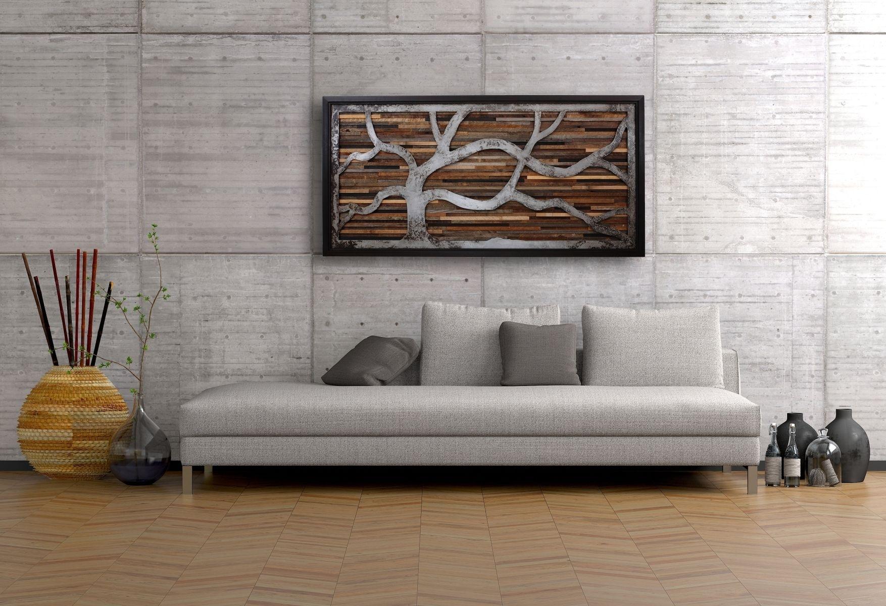 Modern Wood Wall Decor – Blogtipsworld Throughout Most Recent Art Wall Decor (View 10 of 20)