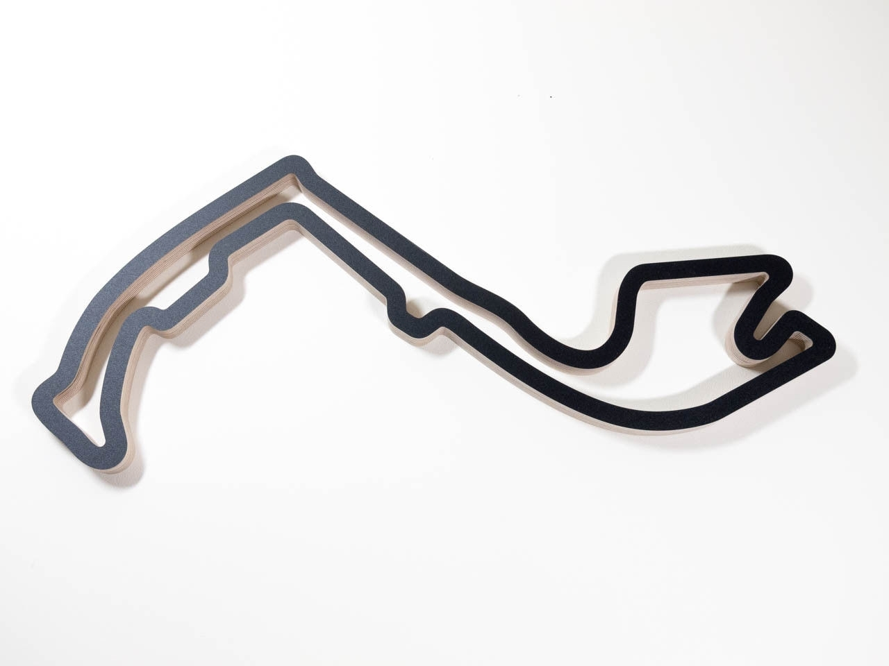 Monaco F1 Grand Prix Motorsport Racing Track Wall Art Wooden For Most Recent Race Track Wall Art (Gallery 7 of 20)