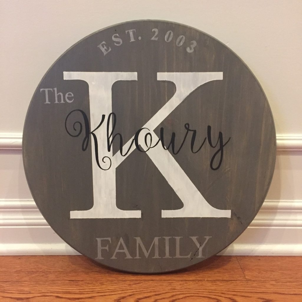 Monogram Wall Art Wood Homey Ideas Personalized Wood Wall Art Quotes Inside Best And Newest Personalized Wood Wall Art (View 7 of 20)