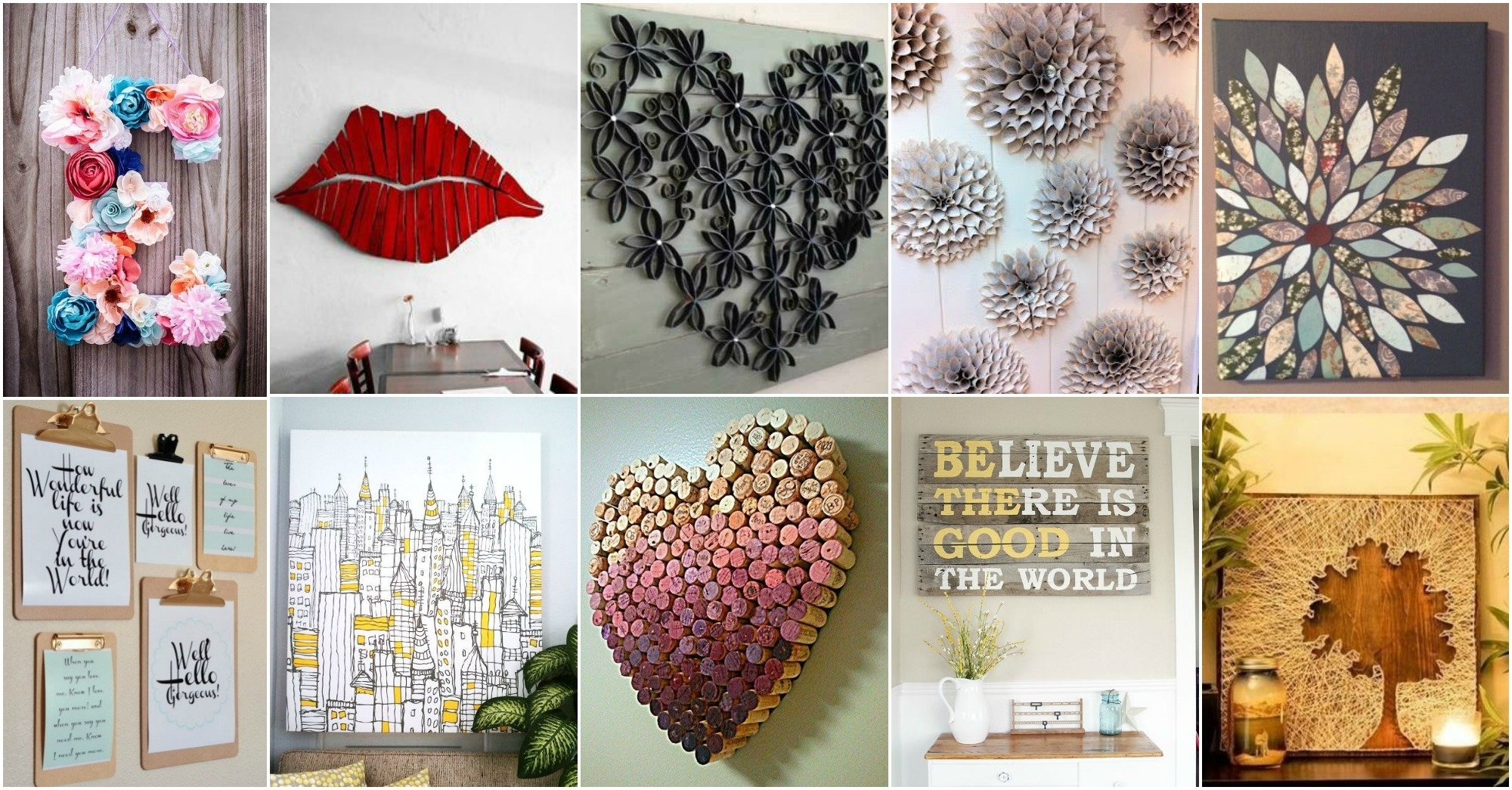 More Amazing Diy Wall Art Ideas Pertaining To Most Up To Date Diy Wall Art Projects (View 17 of 20)