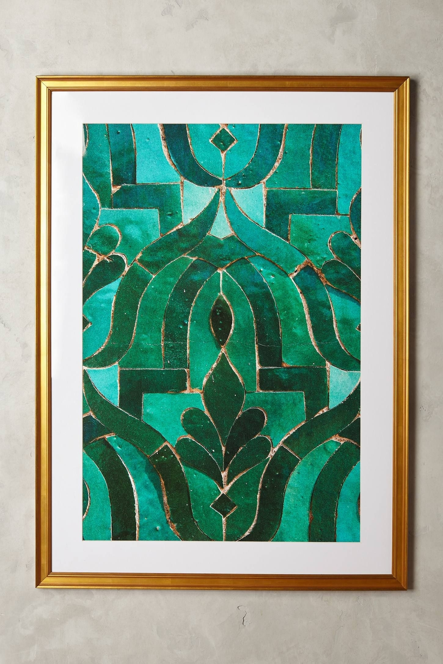 Moroccan Tile Wall Art | Home & Design Love | Pinterest | Moroccan Intended For Current Moroccan Wall Art (View 10 of 20)
