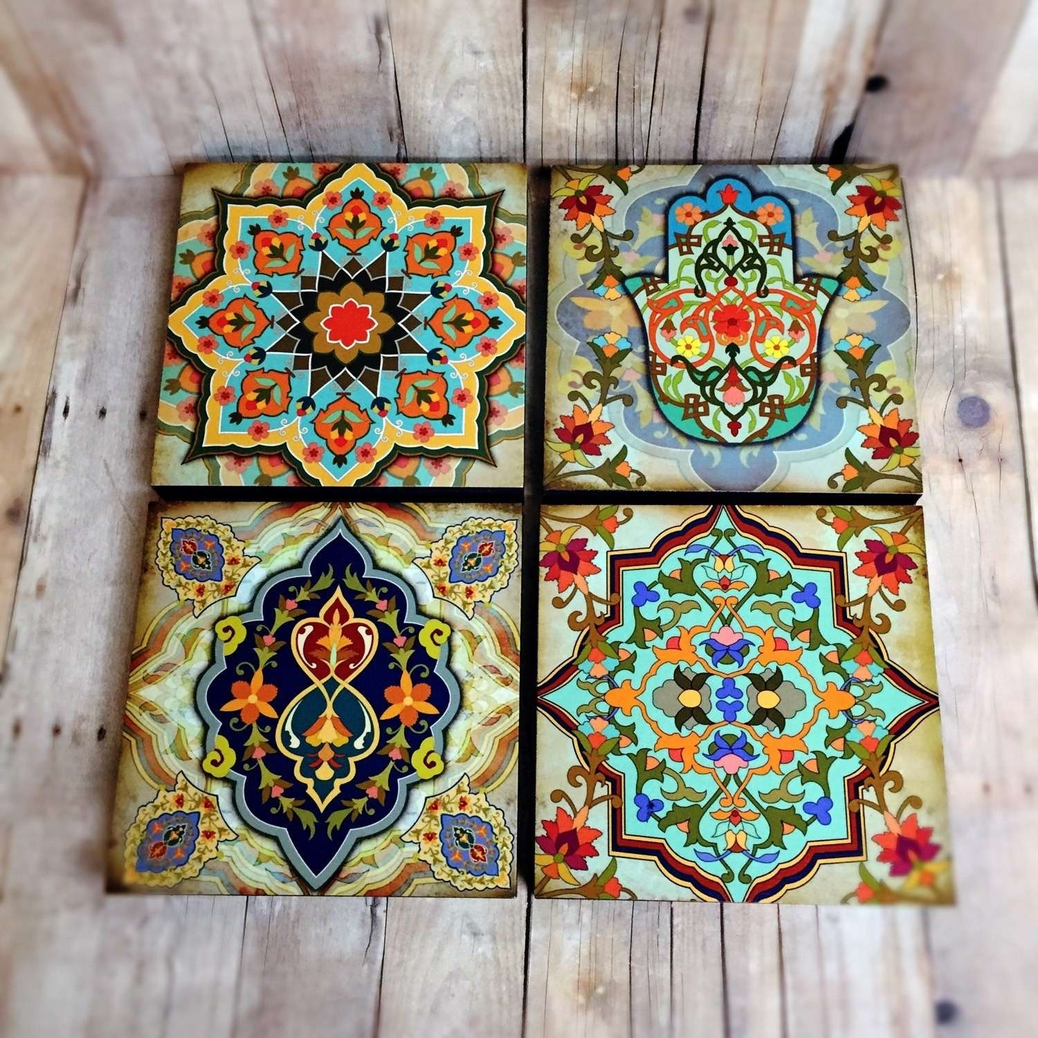 Moroccan Vintage Moroccan Wall Art – Wall Decoration And Wall Art Ideas Regarding Newest Moroccan Wall Art (View 4 of 20)
