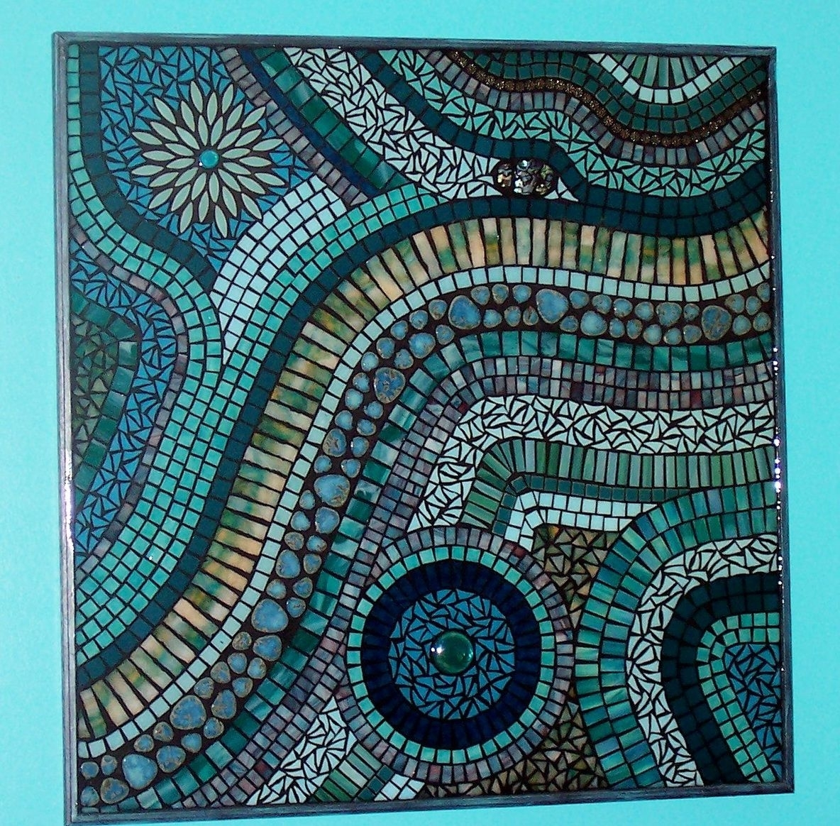 Mosaic Wall Art Diy | Mosaic | Pinterest | Mosaic Wall Art, Mosaic In Current Mosaic Wall Art (View 8 of 15)