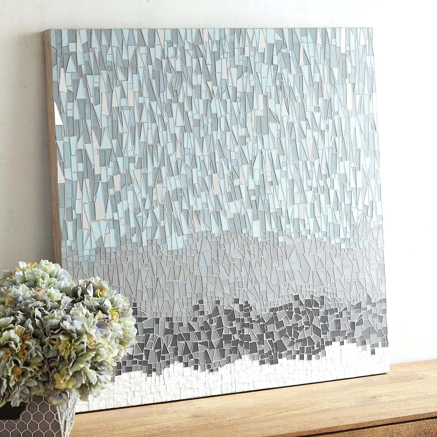 Mosaic Wall Art Glass Mosaic Wall Art For Sale – Ryauxlarsen Regarding Recent Mosaic Wall Art (Gallery 11 of 15)