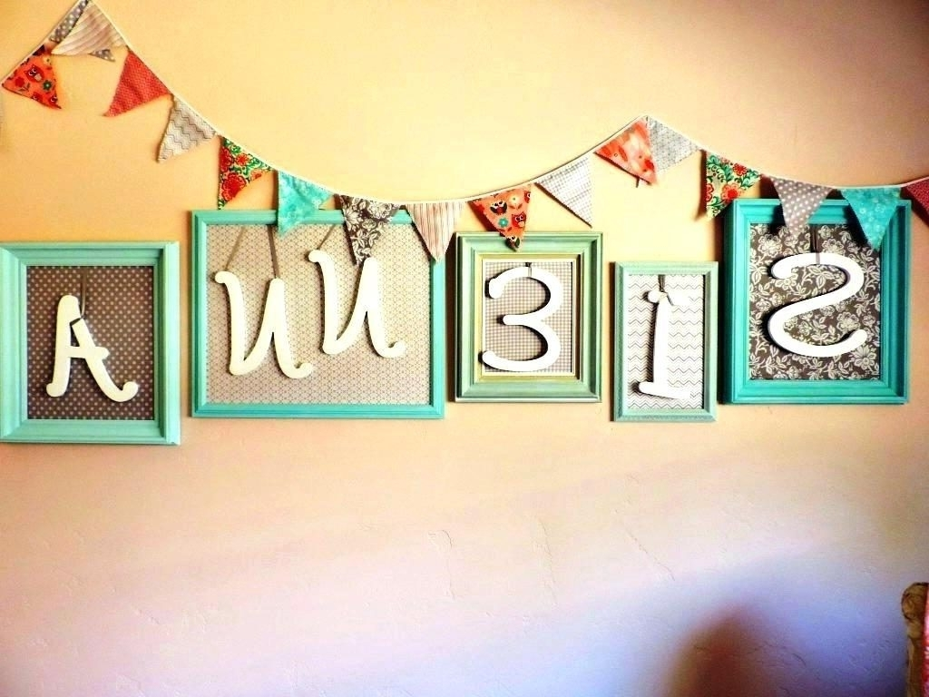 Most Popular Baby Name Wall Art Within Wall Arts Name Wall Art Pertaining To Newest Popular Wall Art (Gallery 19 of 20)