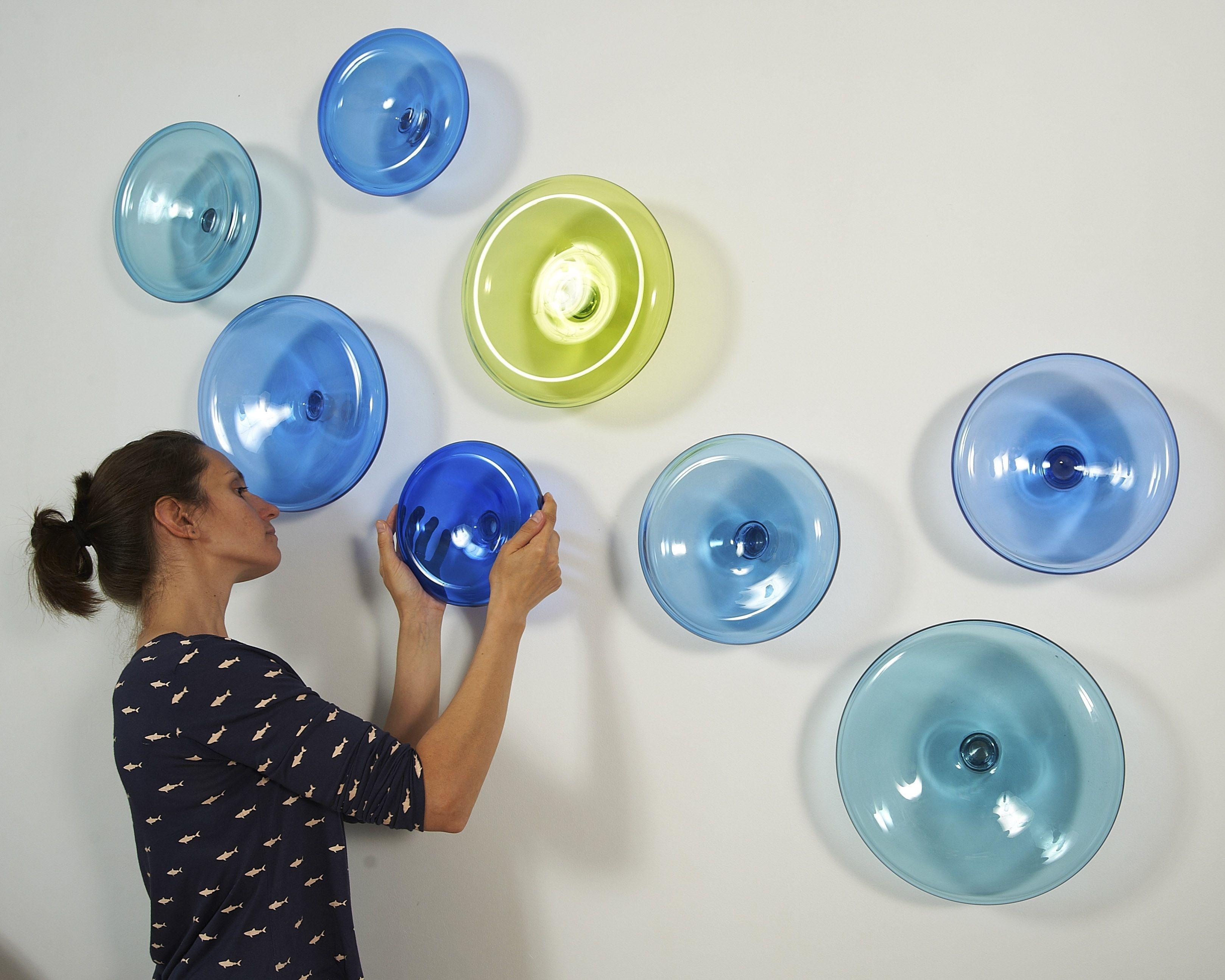Mother Ideas: Glass Plate Wall Art, 3D Wall Artalvitra Design Within Latest Glass Plate Wall Art (Gallery 10 of 15)