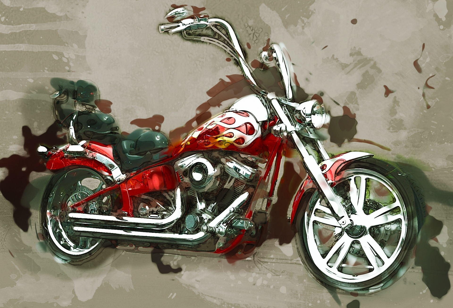 Motorcycle Wall Art Free Stock Photo – Public Domain Pictures Regarding Most Up To Date Motorcycle Wall Art (Gallery 9 of 20)