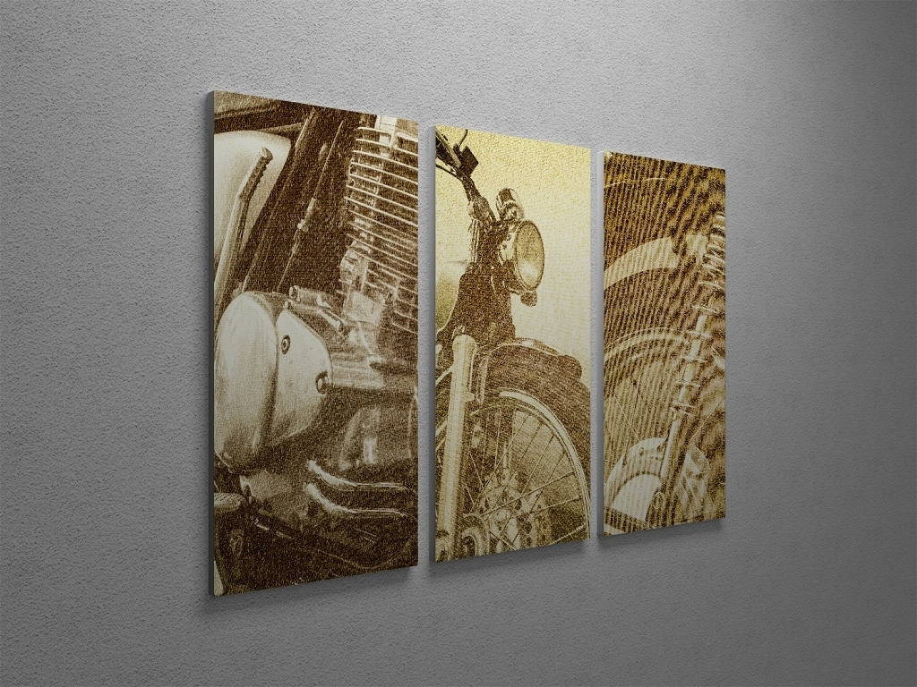 Motorcycle Wall Art Models : Andrews Living Arts – Perfect Ideas Throughout Latest Motorcycle Wall Art (View 17 of 20)