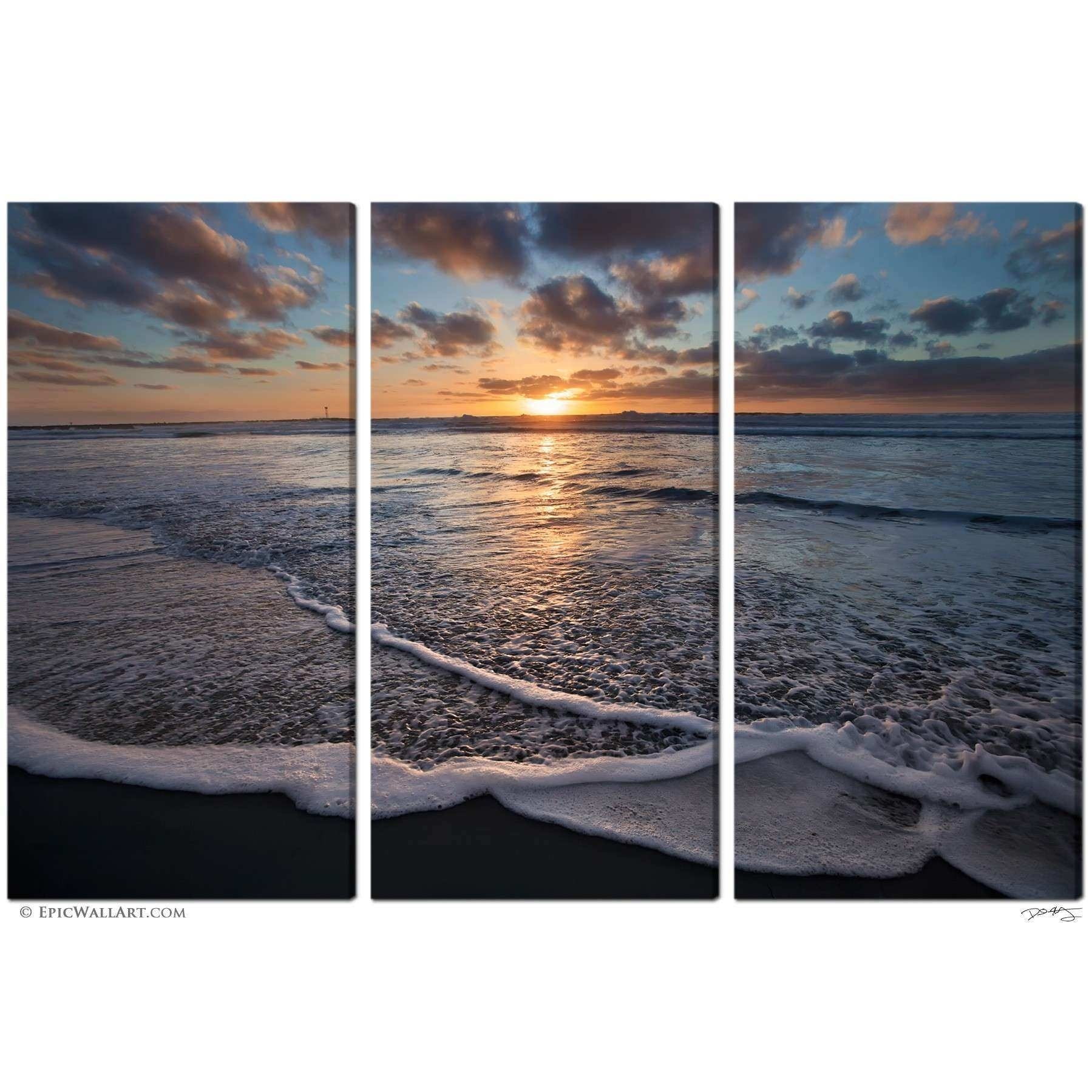 Multi Piece Wall Art Unique 3 Piece Canvas Wall Art Sets Takuice With Regard To Latest Multi Piece Wall Art (View 13 of 20)