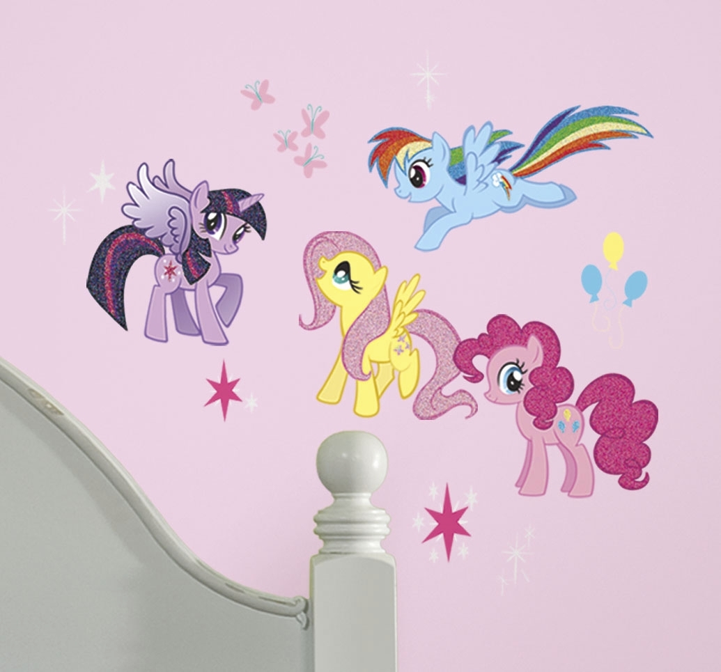My Little Pony Peel And Stick Wall Decalsyork Wall Coverings For Most Up To Date My Little Pony Wall Art (View 11 of 20)
