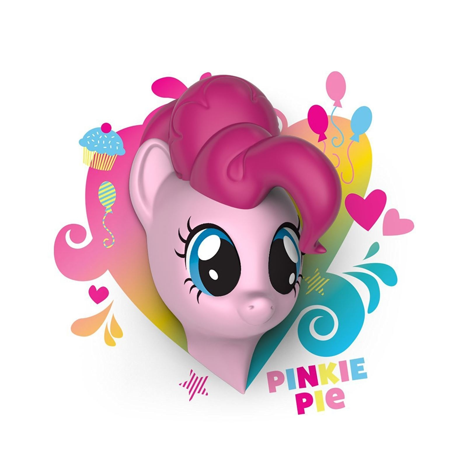 My Little Pony Pinkie Pie 3D Wall Light Hasbro | Ebay In Most Up To Date My Little Pony Wall Art (View 15 of 20)