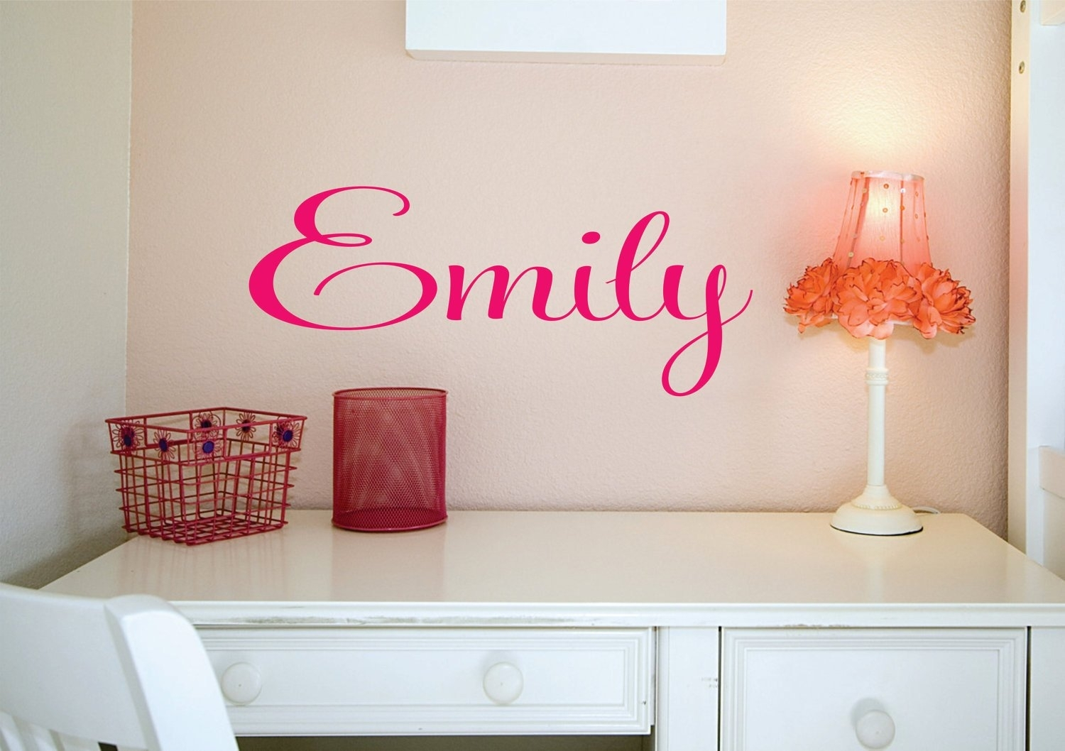 Name Sign, Custom Name Decal, Vinyl Decal, Wall Decals, Kids Room With Regard To Most Popular Name Wall Art (View 13 of 20)