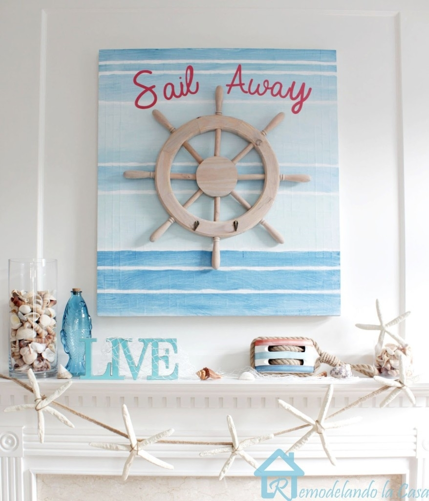 Nautical Wall Art Decor For Your Home With Regard To Newest Nautical Wall Art (View 11 of 15)