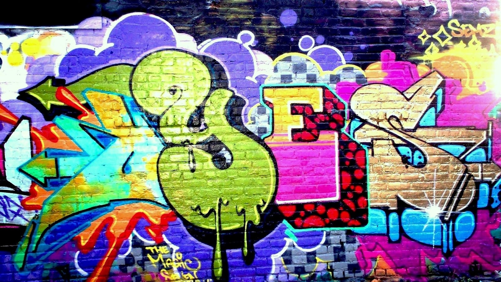 New Graffiti Wall Art – Wall Decoration Ideas Intended For Recent Graffiti Wall Art (Gallery 3 of 20)