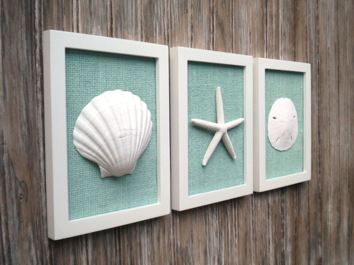 Nice Sea Glass Wall Decor Inspiration Wall Art Ideas Inspiration Of pertaining to Best and Newest Sea Glass Wall Art