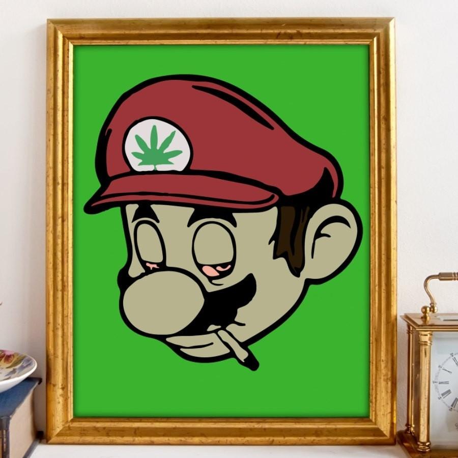 Nintendo Wall Art - Mycraftingbox in Most Popular Nintendo Wall Art