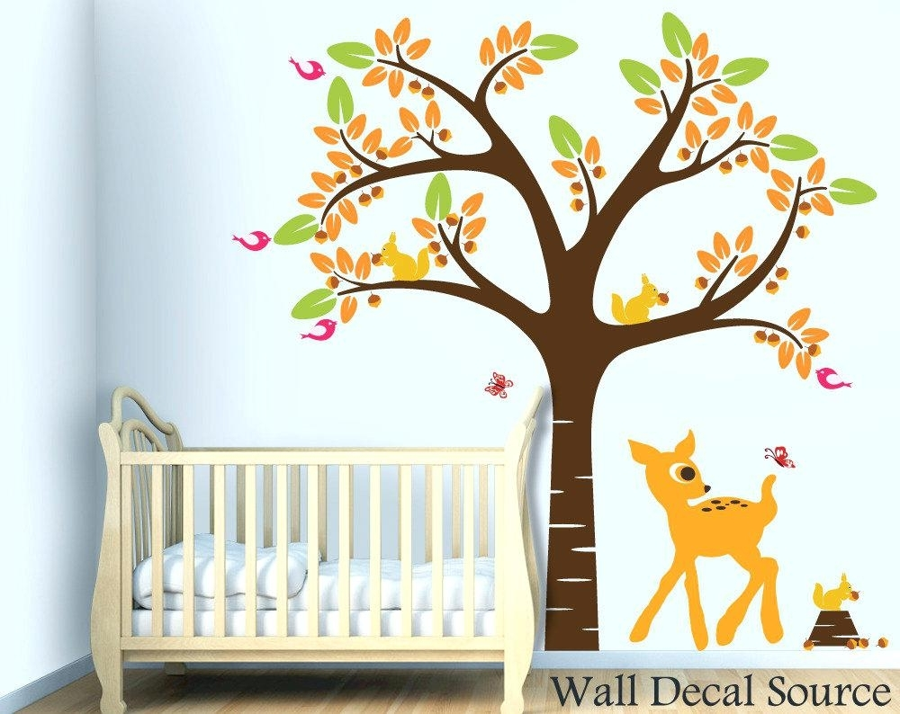 Nursery Wall Art Decals Baby Wall Art Baby Nursery Wall Art With Regard To Current Baby Room Wall Art (View 19 of 20)