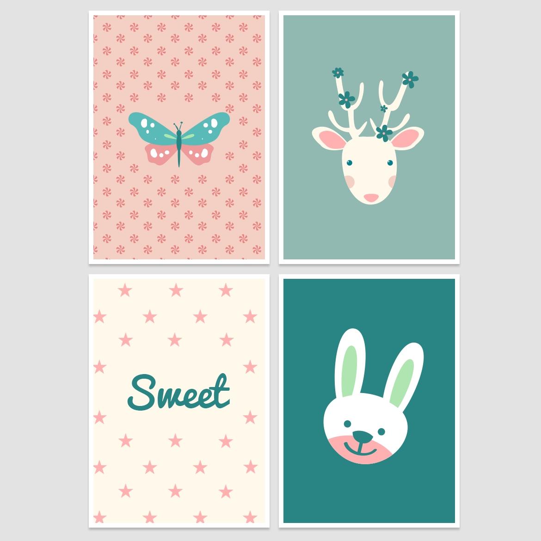 Nursery Wall Decor – Free Printable! - Belivindesign for 2018 Free Printable Wall Art Decors