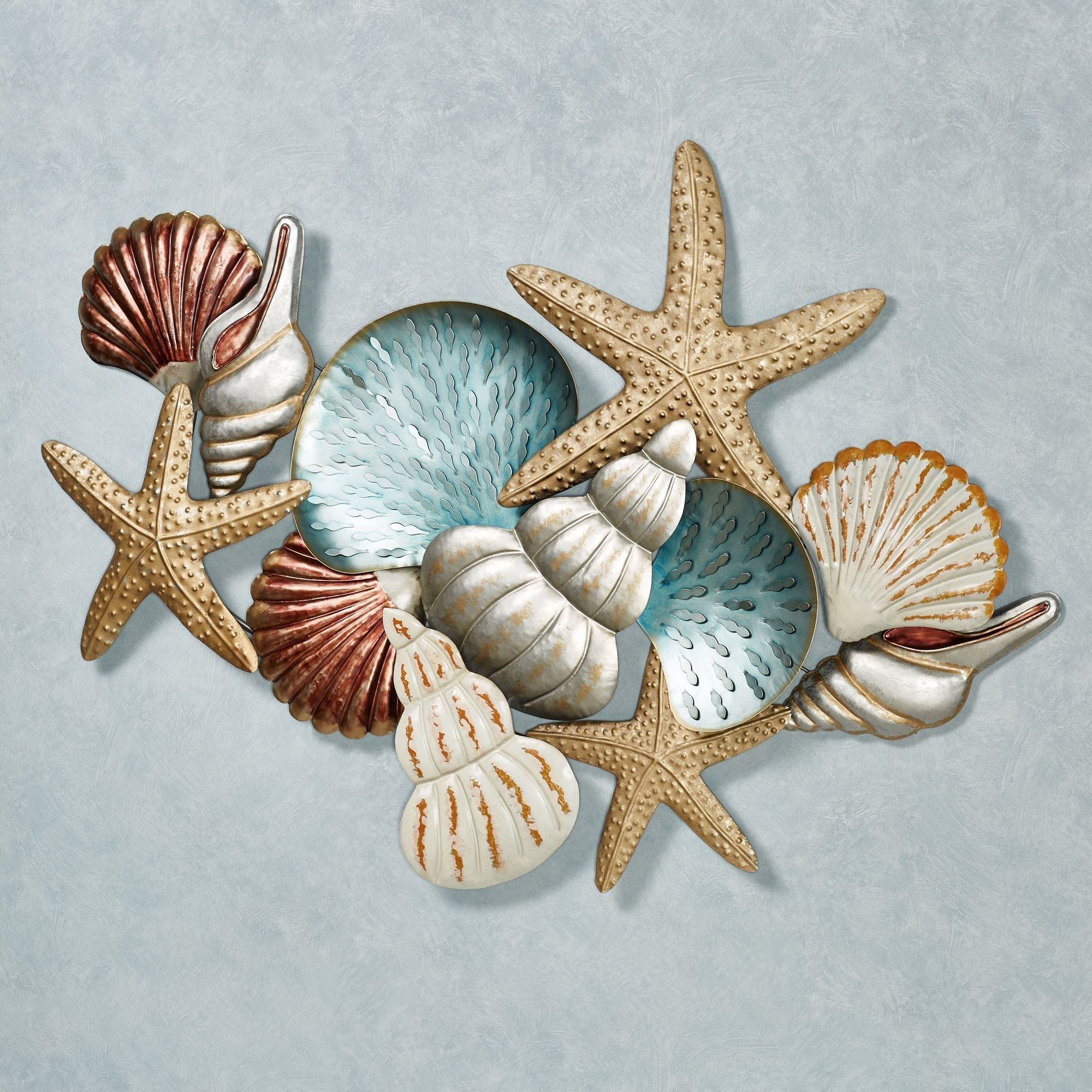 Ocean Collage Metal Wall Art Endearing Enchanting Touch Of Class Within Recent Touch Of Class Wall Art (View 11 of 20)