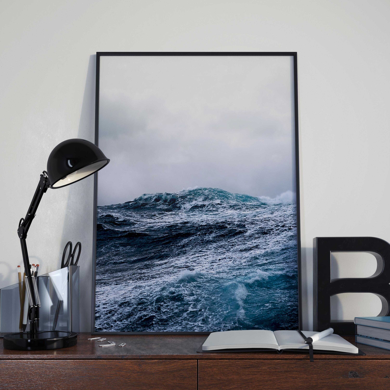 Ocean Wall Art - Ocean Prints - Relaxing Wall Art   Fox And Canvas for Most Recent Ocean Wall Art
