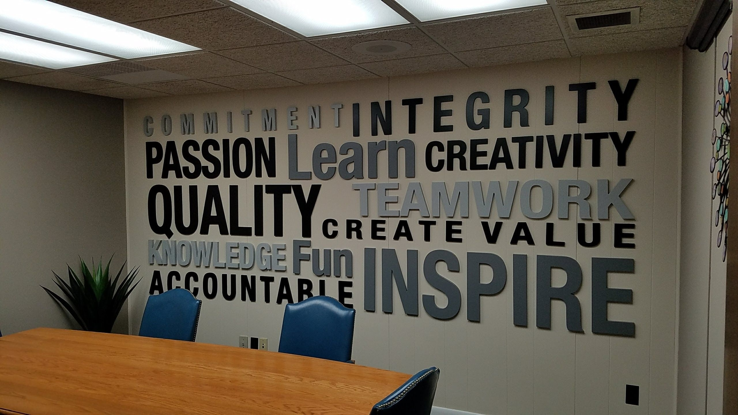 Office Wall Art Created With Vectric Software #vectric #cnc For Recent Office Wall Art (View 11 of 15)