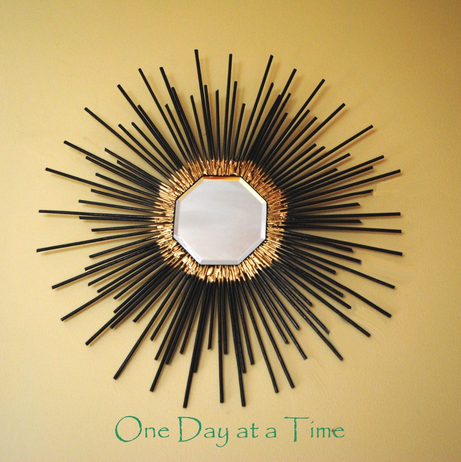 One Day At A Time: 50's Inspired Starburst Wall Art For Most Recent Starburst Wall Art (View 7 of 20)