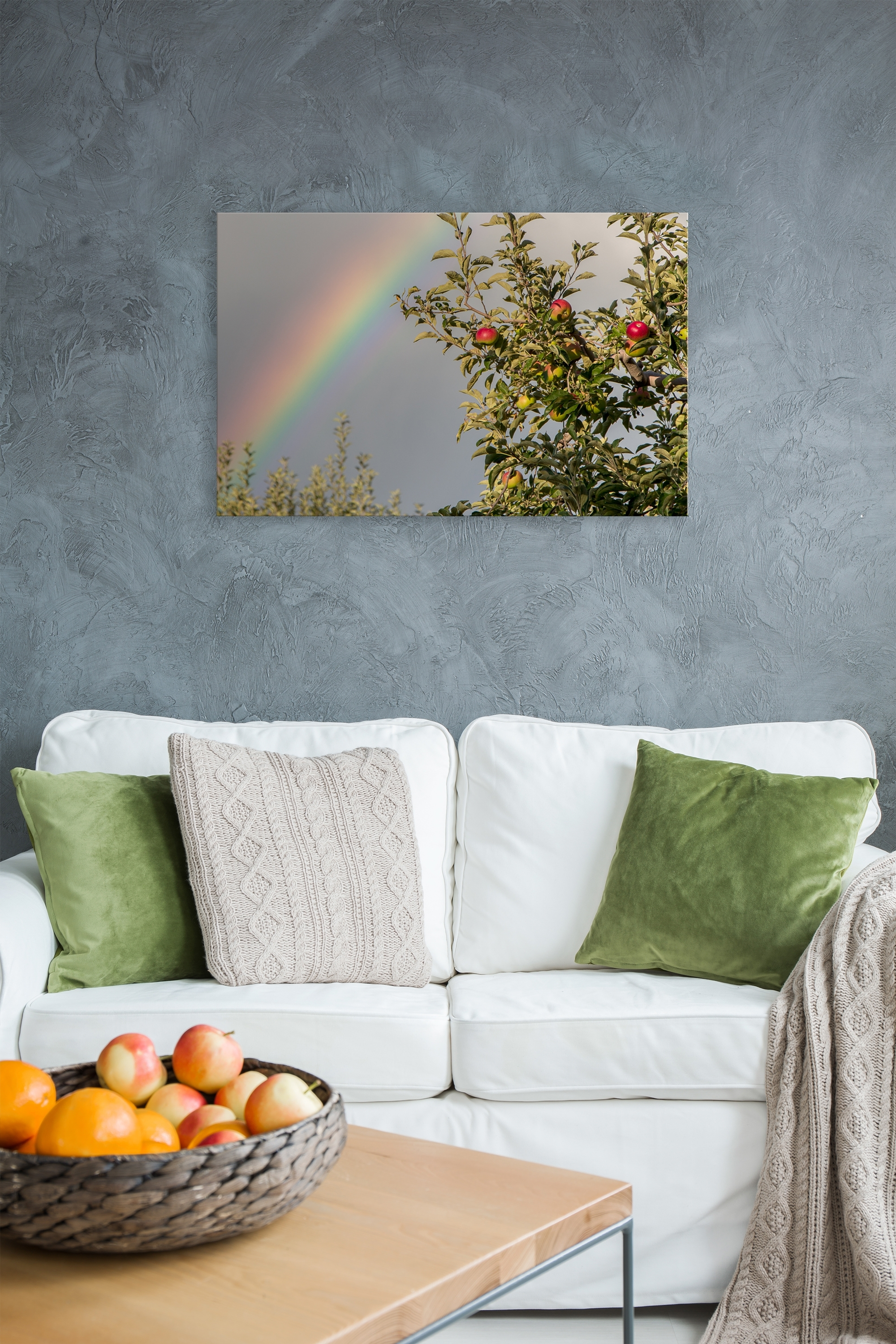 Orchard Rainbow – Rogue Aurora Photography Throughout 2018 Nature Wall Art (View 16 of 20)