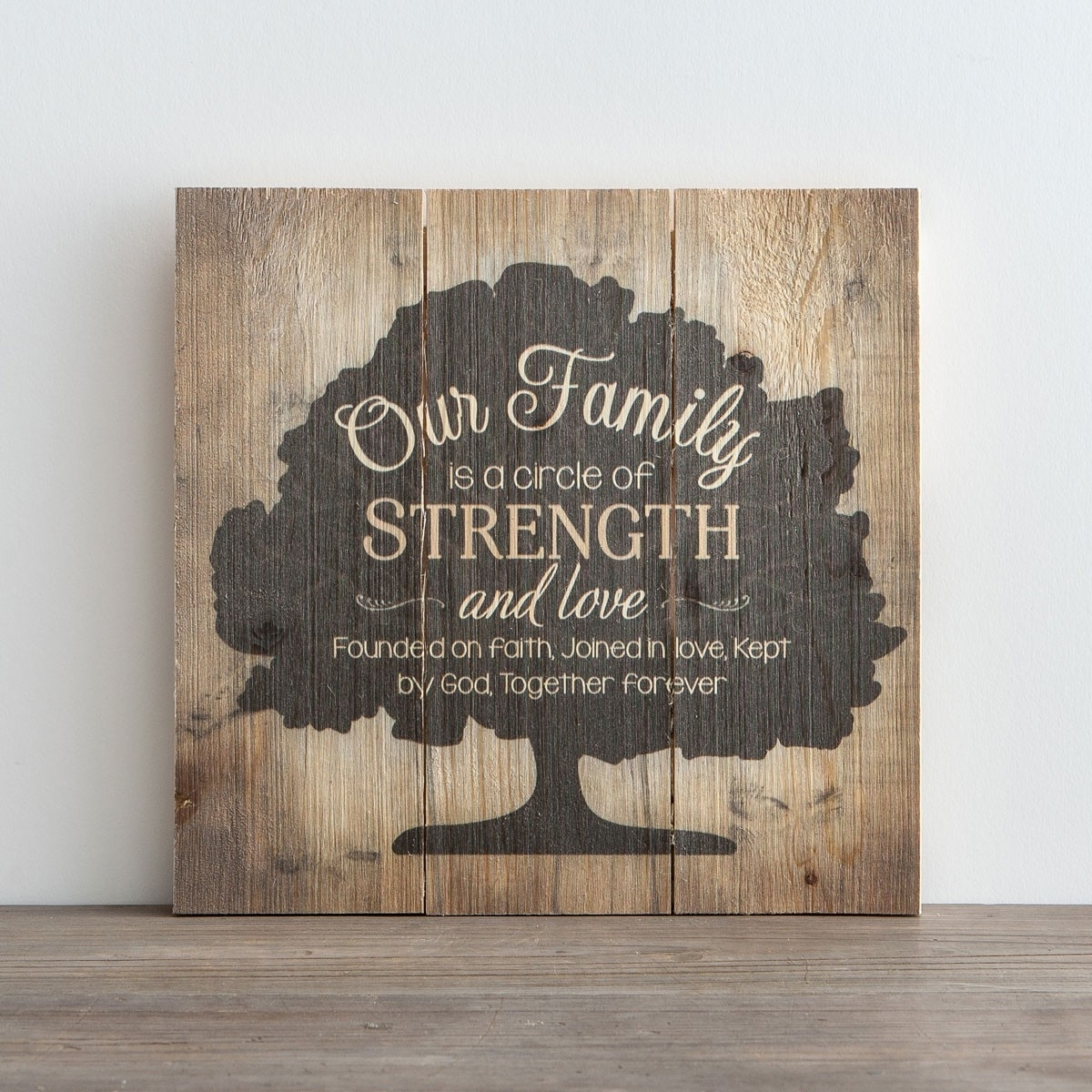 Our Family – Plank Wall Art | Dayspring In Newest Plank Wall Art (Gallery 3 of 20)