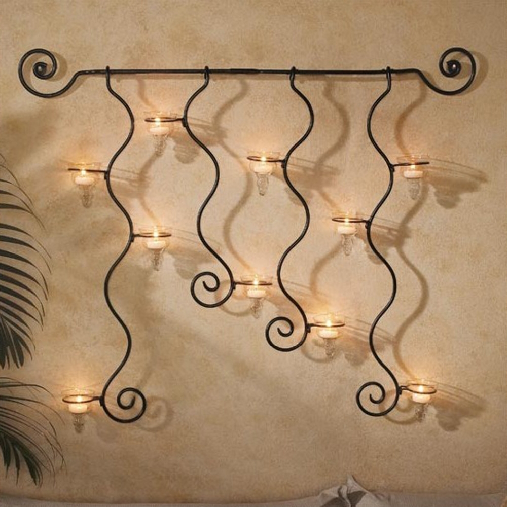 Outdoor Iron Wall Art Iron Wall Art Decor Wrought Iron Planters throughout Most Up-to-Date Iron Wall Art