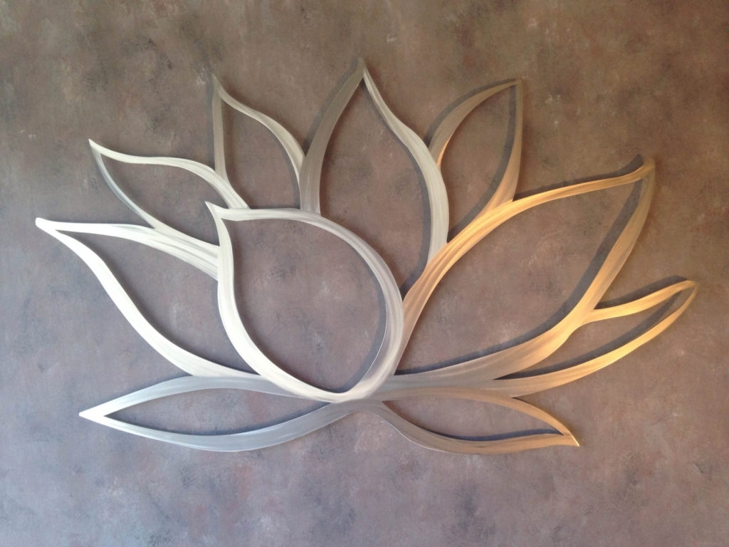 Outdoor Metal Wall Decor Ideas | Eva Furniture Regarding Newest Metal Flowers Wall Art (Gallery 17 of 20)