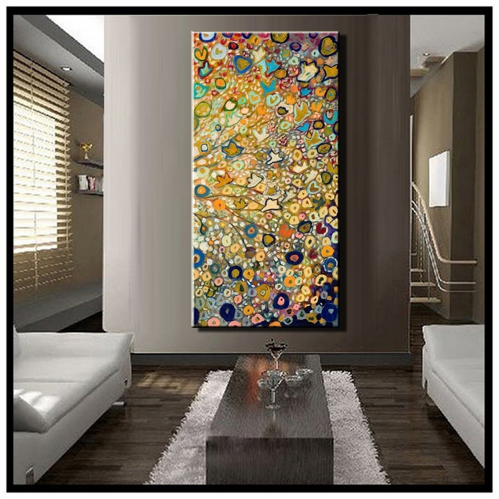 Oversized Vertical Wall Art - Culturehoop intended for Newest Vertical Wall Art