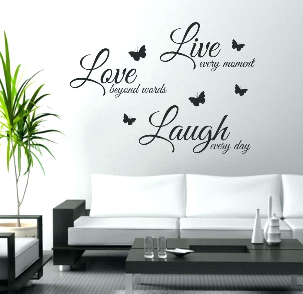 Peel And Stick Wall Decals Quotes Stick On Wall Art Wall Ideas Intended For Most Recently Released Stick On Wall Art (View 7 of 20)