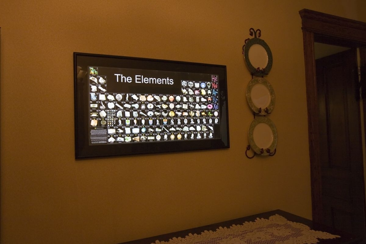 Periodic Table Of Elements Wall Art | Wall Art | Pinterest Pertaining To Most Up To Date Periodic Table Wall Art (View 12 of 20)