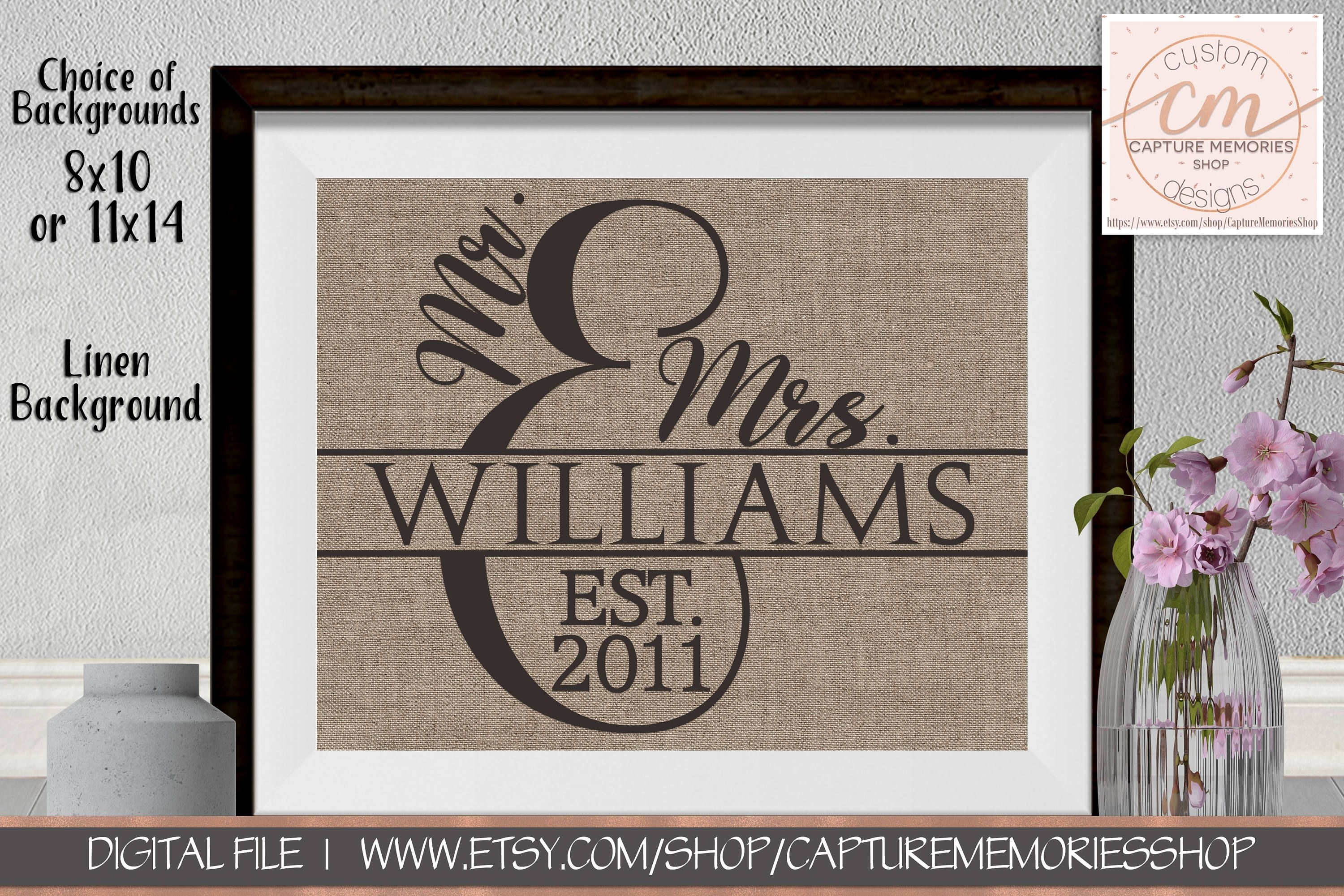 Personalized Family Name Signs|Family Name Sign Wedding Gift|Family Within 2017 Family Name Wall Art (View 16 of 20)