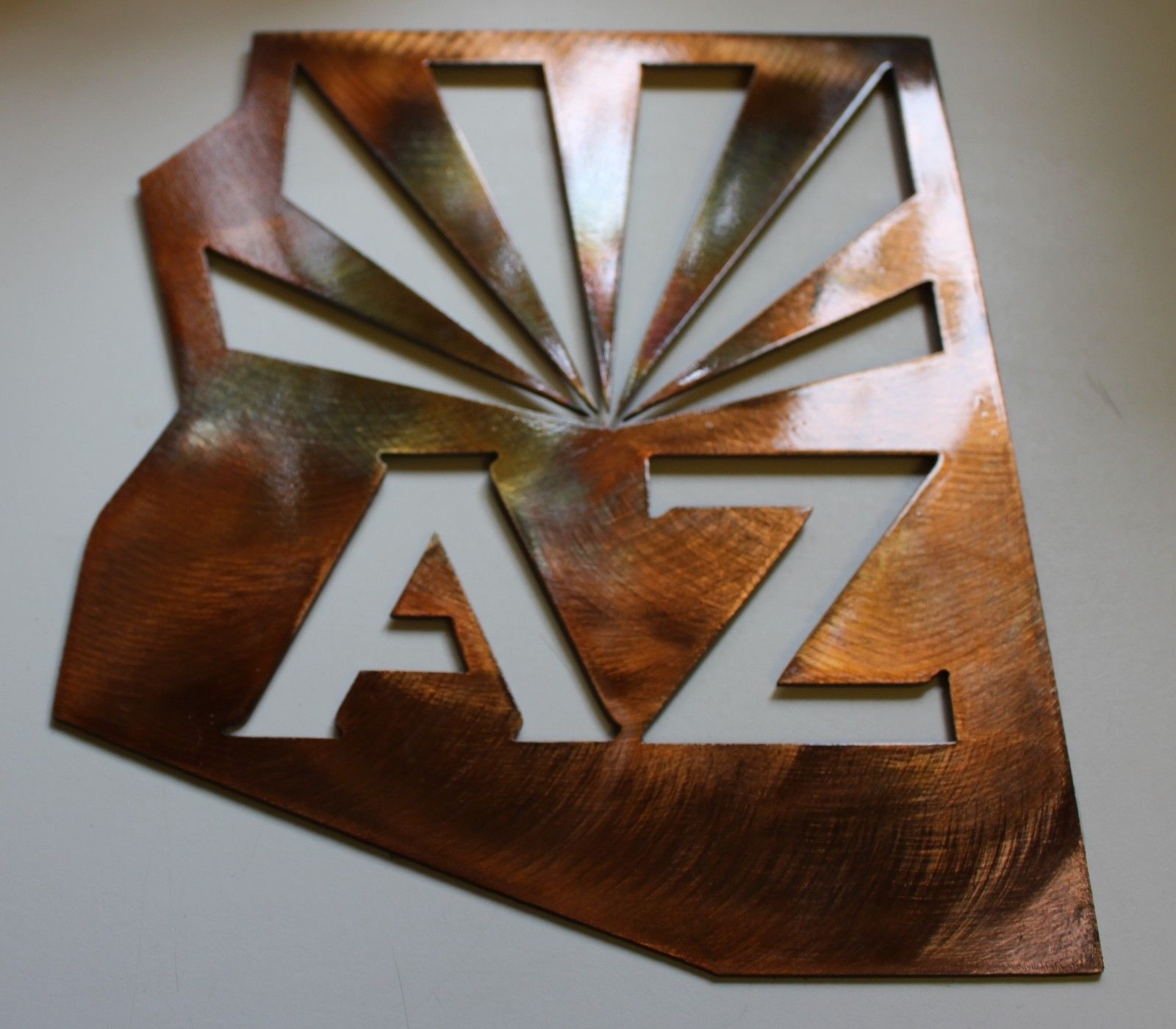 Phoenix Coyotes New Arizona Metal Wall Art And 50 Similar Items Inside Most Recent Arizona Wall Art (View 15 of 20)