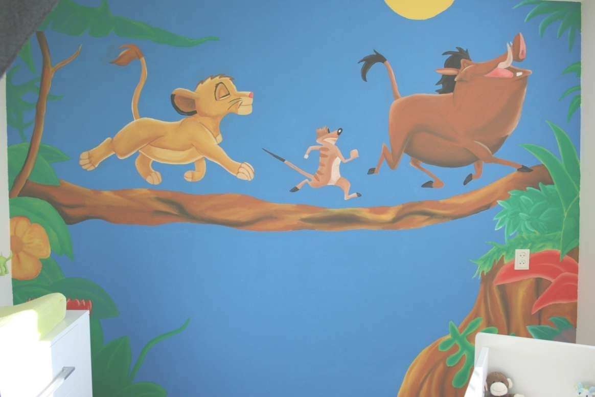Featured Photo of Lion King Wall Art
